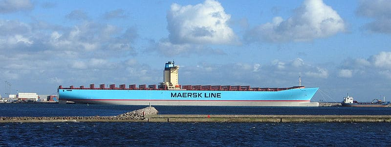 emma maersk - largest ship