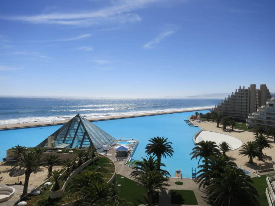 Largest Swimming Pool In The World - San Alfonso del Mar Resort, Chile