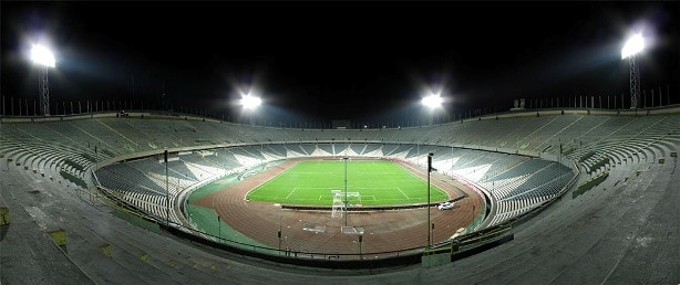 Azadi Stadium of Tehran - avery big soccer stadium in Iran