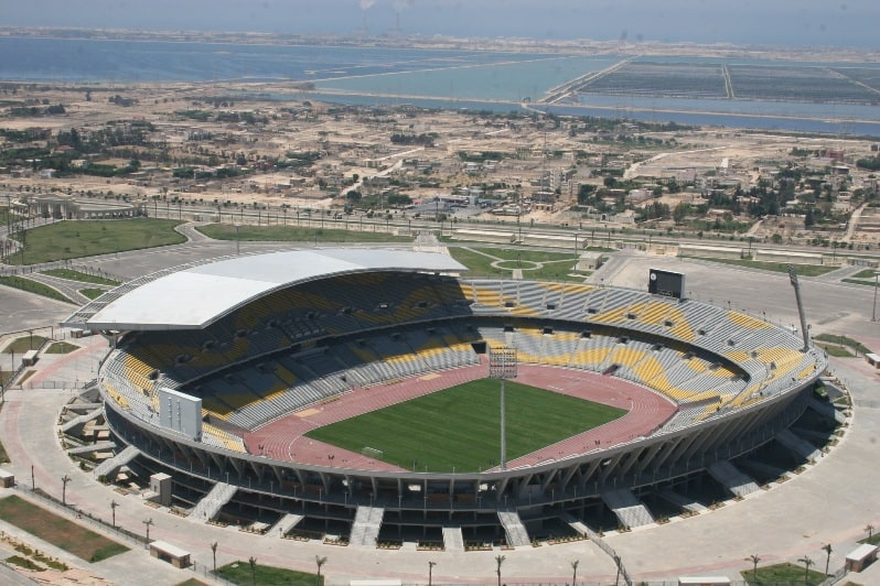 Borg El Arab Stadium - Largest football stadium in earth
