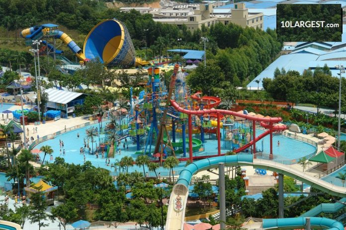 ChimeLong Water Park - largest water park in China
