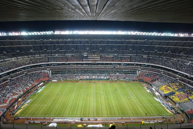 Estadio Azteca - big football stadium in Mexico