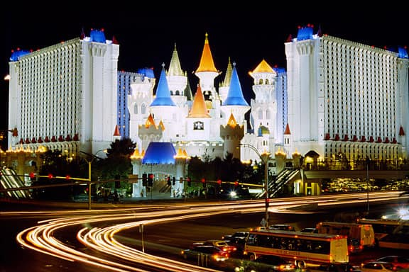 Excalibur - large hotel in Las Vegas