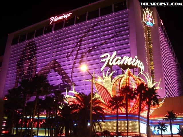 Flamingo Las Vegas - largest hotel in Las Vegas