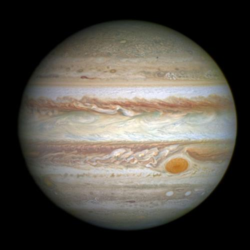 Jupiter - largest planet in the solar system