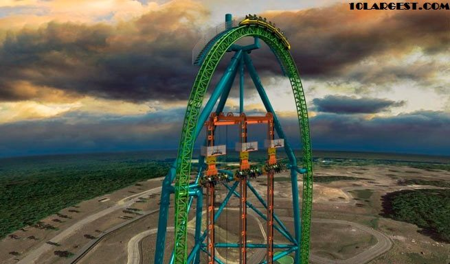 Kingda Ka, Six Flags Great Adventure - Tallest Roller Coaster