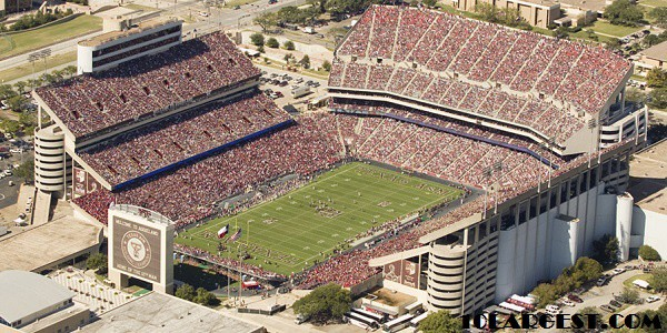 Kyle Field - Big College football stadium in Texas