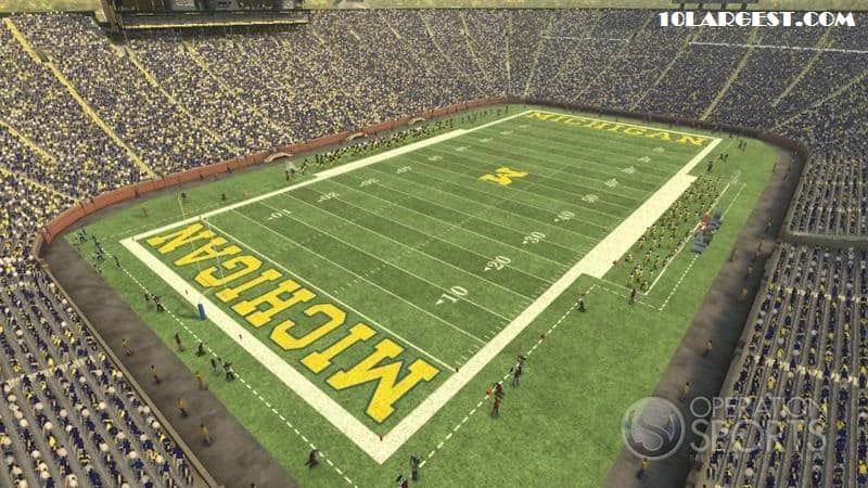 Michigan Stadium - LARGEST COLLEGE STADIUM