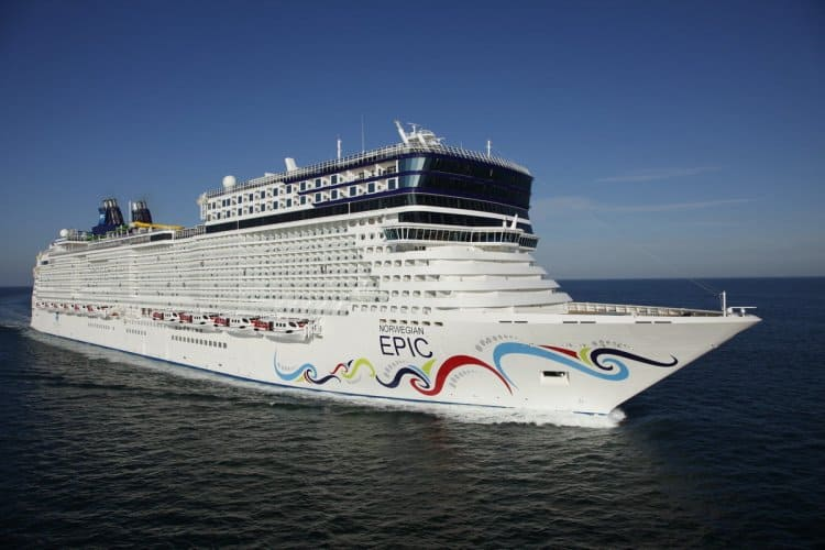 Norwegian Epic - view 1