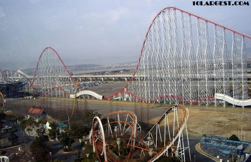 Steel Dragon 2000 Nagashima Spa Land Nagashima