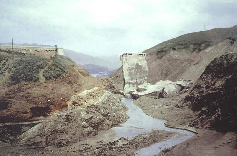 The Collapse of the St. Francis Dam (Day after failure)