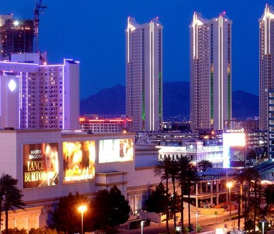 Second Largest Hotel in World - The MGM Grand and The Signature, Las Vegas