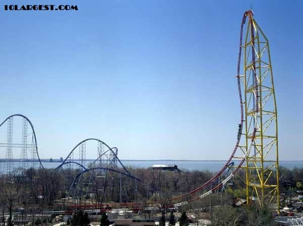 Top Thrill Dragster - highest roller coaster