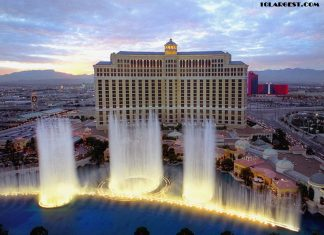 Bellagio Las Vegas - 3rd Biggest Hotel in Las Vegas