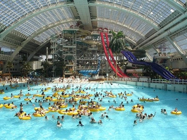 world water park, canada