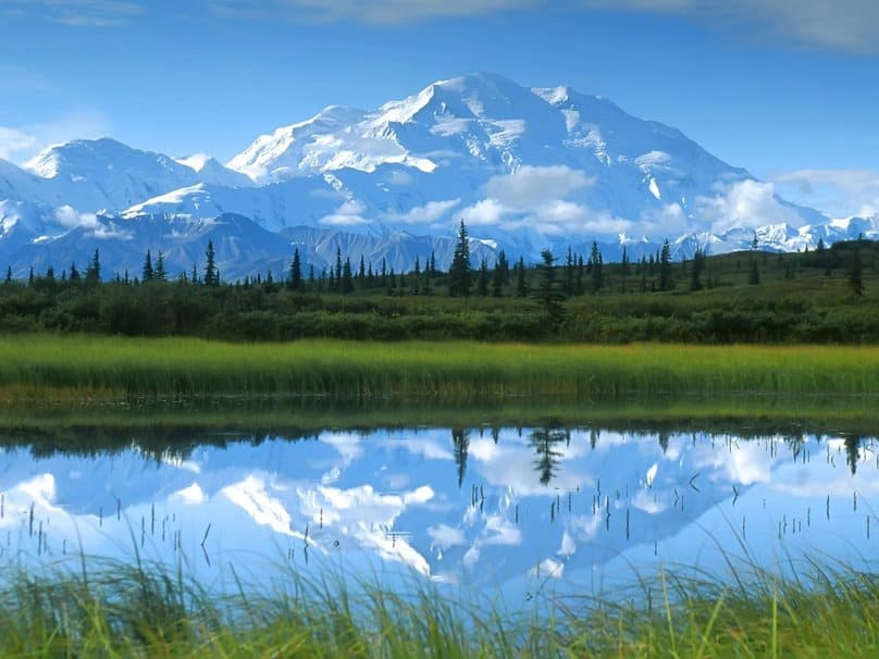 Mount McKinley - landscape photo