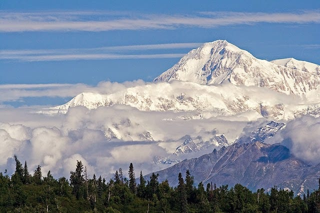 Mount McKinley - largest mountain in North America