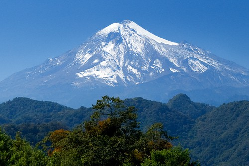 The Pico de Orizaba - tallest mountain of Mexico