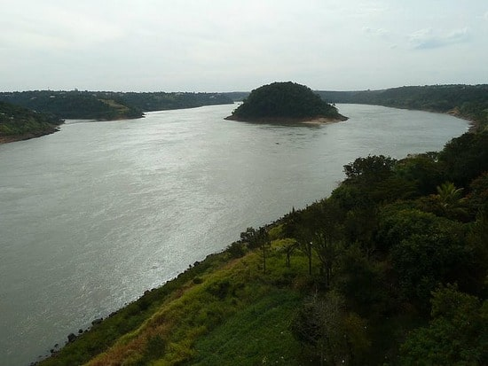 Parana river - 2nd Longest River In South America