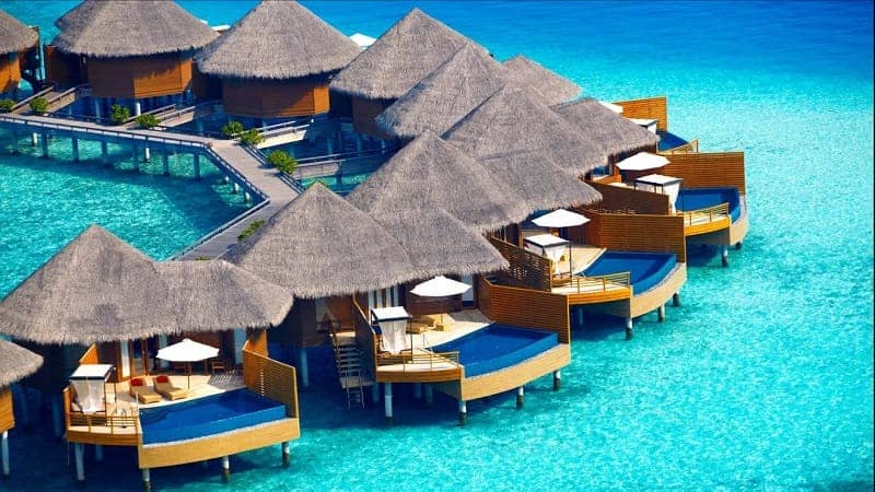 The Maldives - beautiful islands