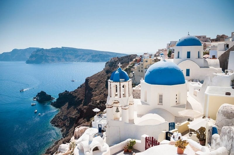 most beautiful greek island - SANTORINI